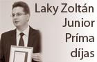 Laky Zoltán Junior Príma díjat kapott
