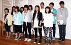 2015.07.30. Diákok látogatása Japánból (BAS)
